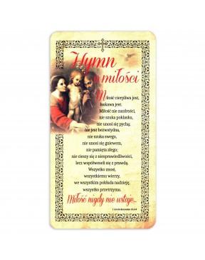 Obrazek domowy Hymn o miłości