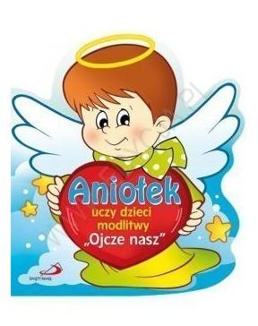 Aniołek uczy dzieci...