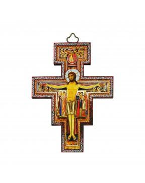 Złocona ikona Krzyż...