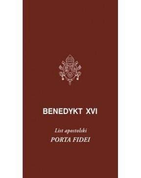 Benedykt XVI - List...