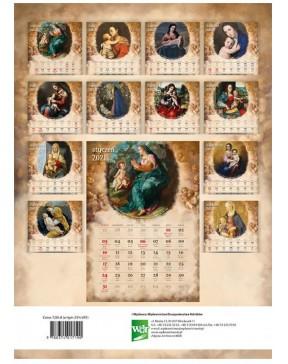 Kalendarz ścienny Madonny 2021