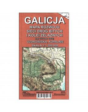 Galicja. Mapa rozwoju sieci...