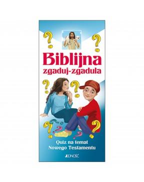 Biblijna zgaduj-zgadula....