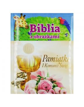Biblia z obrazkami - różowa...