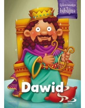 Kolorowanka biblijna - Dawid