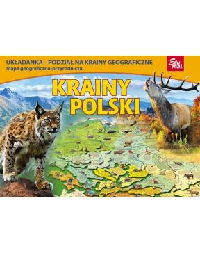 Układanka - Krainy Polski