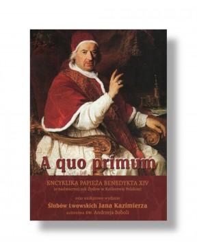 "Benedykt XIV - Encyklika ""A..."