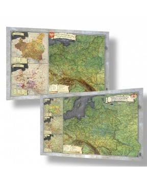 Zestaw Map A3 - I i II...