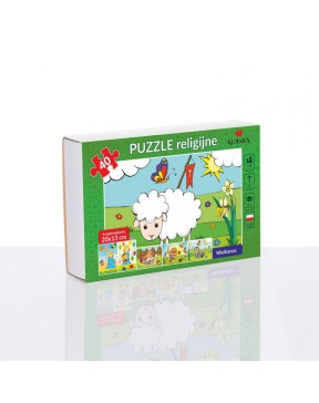 Puzzle - Wielkanoc - 6 szt