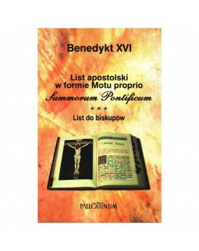Benedykt XVI - Motu proprio...