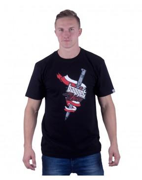 Koszulka męska Bagnet na broń