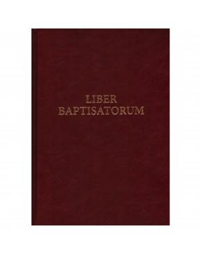 Księga ochrzczonych. Liber...