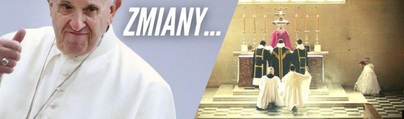 Papież Franciszek ogranicza dostęp do Mszy Św. Wszechczasów!